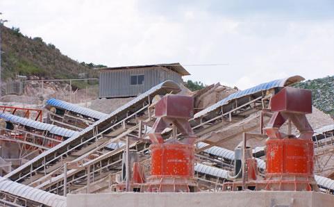 煤炭化工矿物破碎工艺 -
