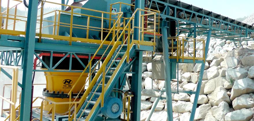 矿山开采生产线工艺流程案例02