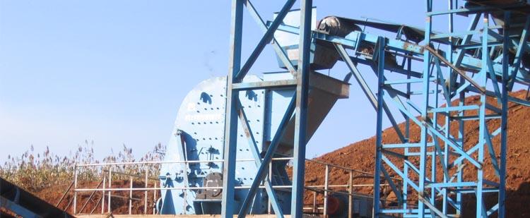 时产400吨石灰石生产线,时产500吨白云岩生产线现场02