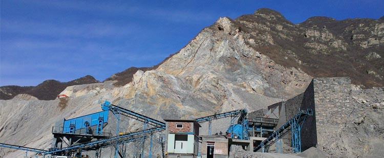 时产600吨石灰石生产线,时产800吨白云岩生产线现场02