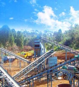 时产1000吨石灰石生产线