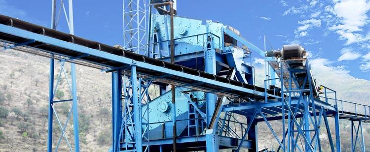 时产60吨花岗岩生产线,时产100吨玄武岩生产线现场案例01