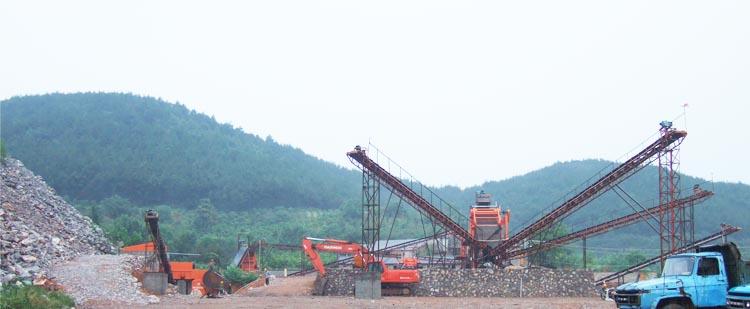 时产200吨花岗岩生产线,时产300吨玄武岩生产线 现场案例01现场案例02