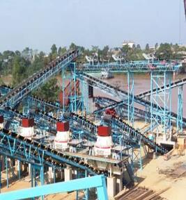 时产200-300吨花岗岩生产线