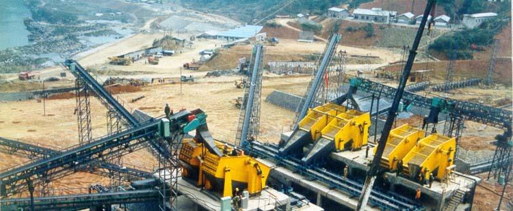 时产400吨花岗岩生产线|时产500吨玄武岩生产线现场案例01