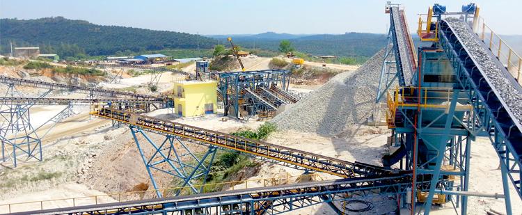 时产600-800吨花岗岩生产线案例01