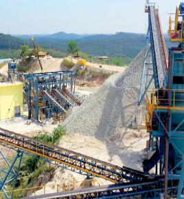 时产600-800吨花岗岩生产线