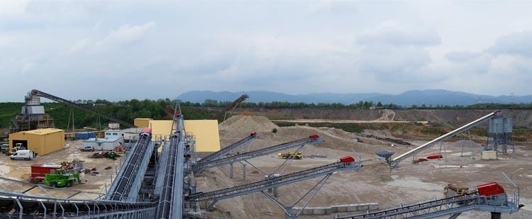 时产1000吨花岗岩生产线,时产1000吨玄武岩生产线