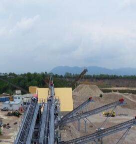 时产1000吨花岗岩生产线