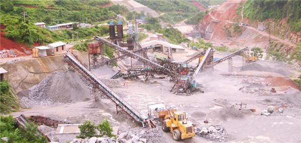 玄武岩破碎生产线案例01