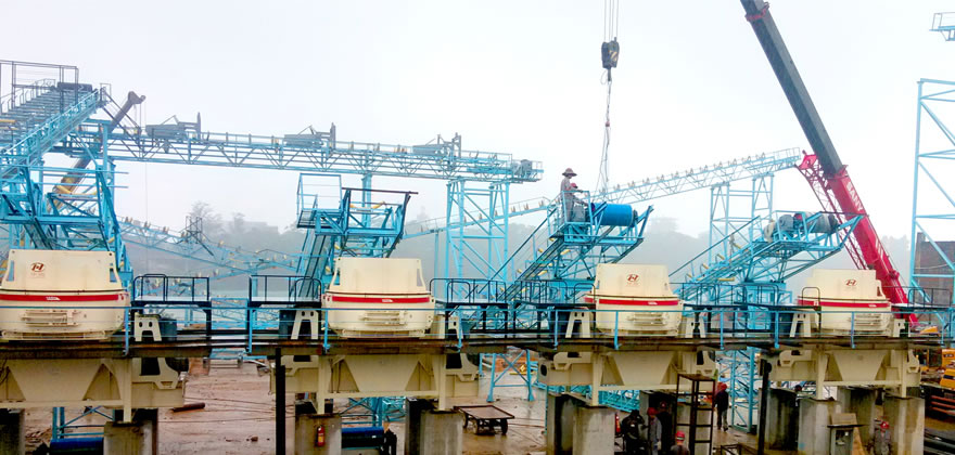 河卵石生产线,河卵石制砂生产线,河卵石破碎生产线 河卵石制砂设备03