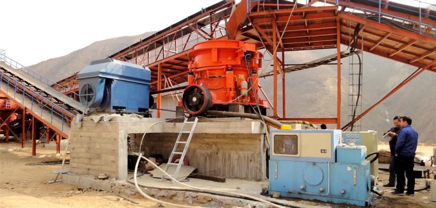 铁矿石破碎生产线案例01