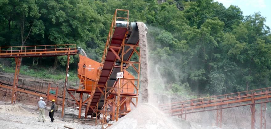铁矿石破碎生产线案例03