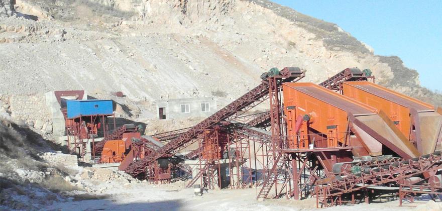 铜矿石破碎生产线案例01