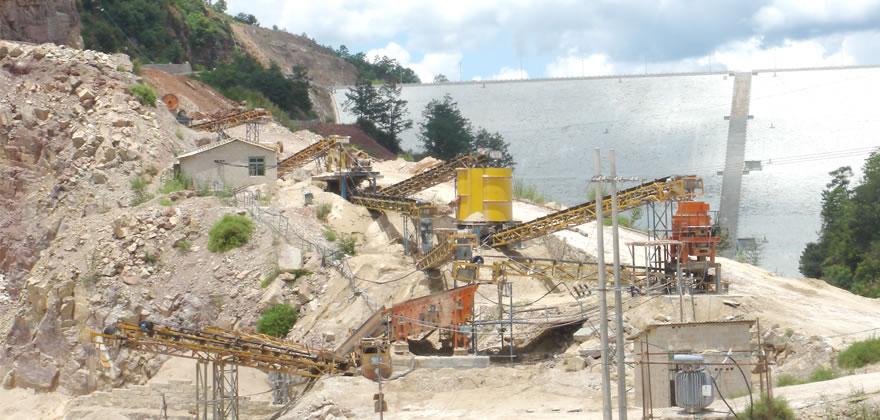 锰矿石砂石生产线案例02