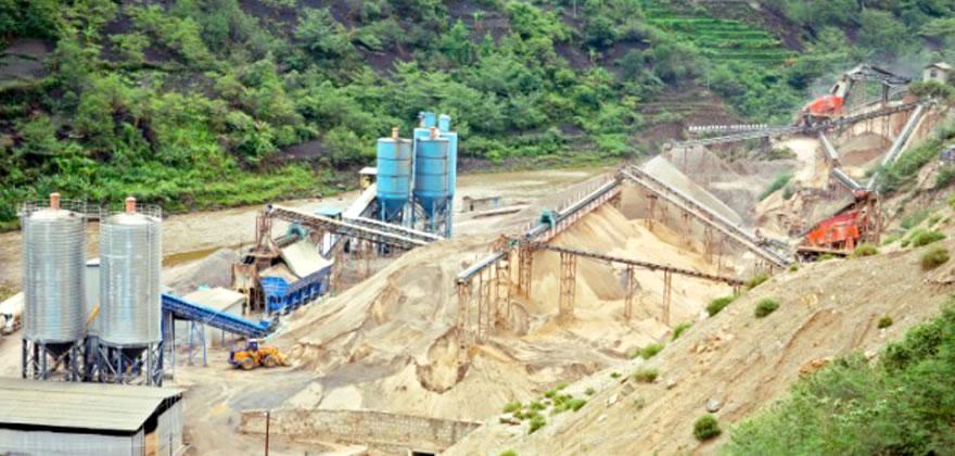 锰矿石砂石生产线案例01