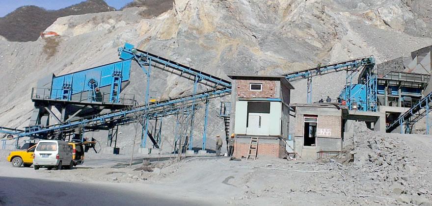 石灰石砂石生产线案例02