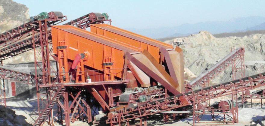 石灰石砂石生产线案例01