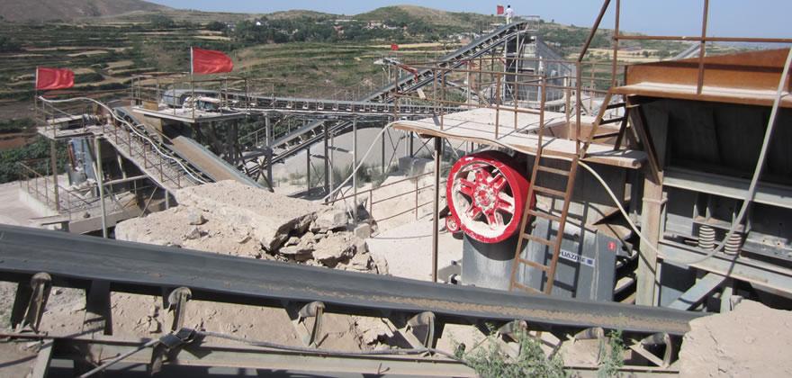 石灰石砂石生产线案例03