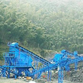 杭黄高铁用砂石骨料生产线
