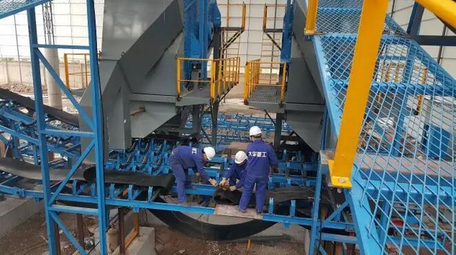 重庆砂石生产生产线(ECP项目)现场