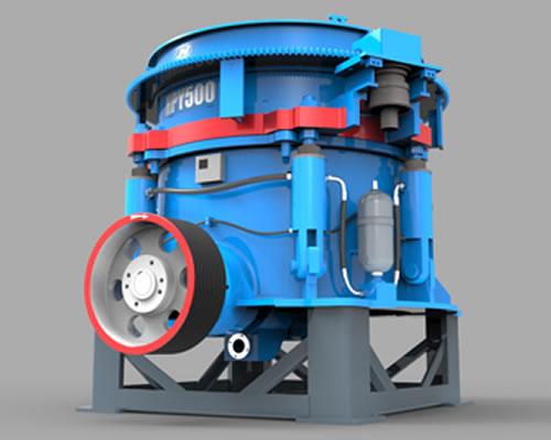 HPY系列多缸液压圆锥破碎机02