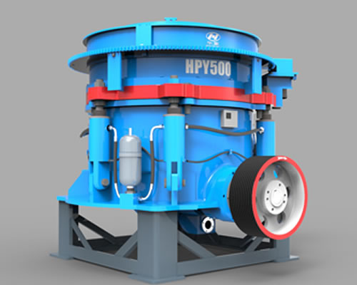 HPY系列多缸液压圆锥破碎机01