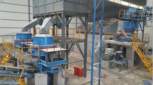 砂石骨料生产设备现场安装调试01