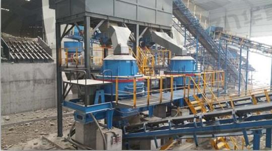 砂石骨料生产设备现场安装调试02