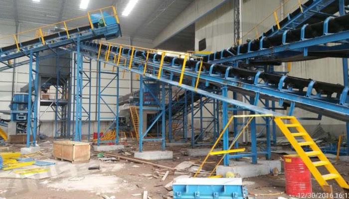砂石骨料生产线案例02
