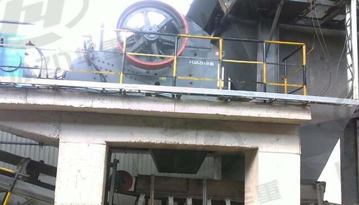 钢渣处理生产线案例03