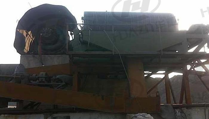 钢渣处理生产线案例04