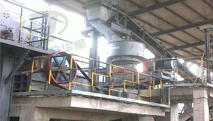 钢渣处理生产线案例02