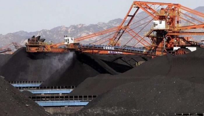 立式冲击破碎机在煤场的应用