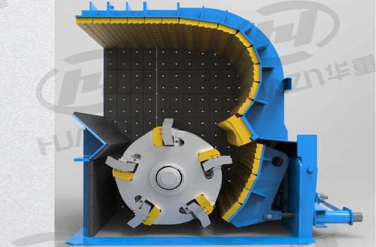PFQ反击式破碎机结构图(3D)