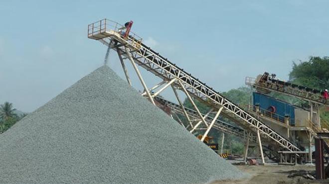 印度尼西亚某公司300吨每小时建筑用骨料生产线4
