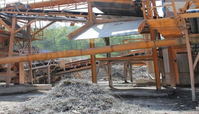 建筑垃圾破碎生产线案例03
