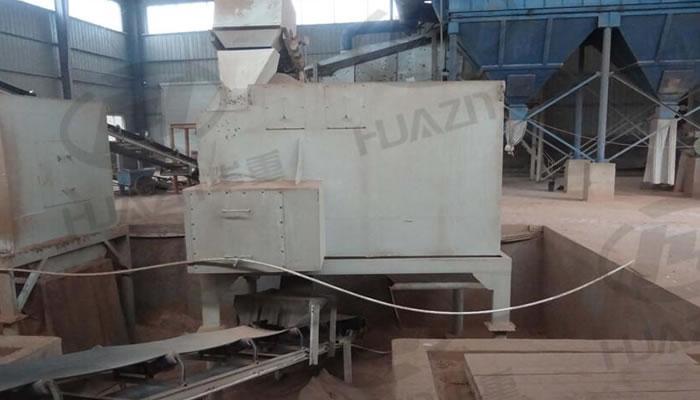 建筑垃圾破碎生产线案例04