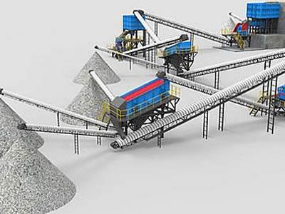 老挝南欧江时产300吨水电站用砂石骨料生产线