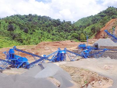 马来尼西亚时产300吨建筑用砂石骨料生产线