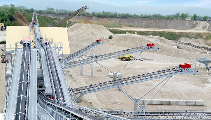 法国里昂时产450吨建筑用碎石骨料生产线03