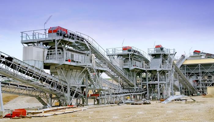 法国里昂时产450吨建筑用碎石骨料生产线02