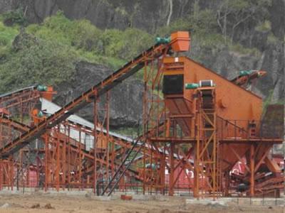 斐济国家公路建筑用优质砂石骨料生产线