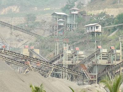 印度尼西亚时产450吨建筑用骨料生产线