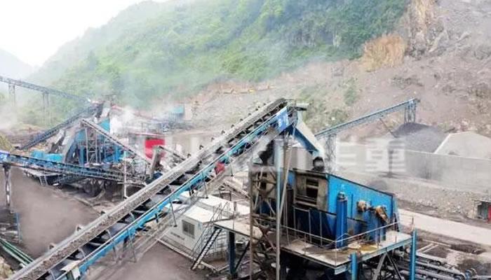 重庆浩口水电站砂石骨料加工生产线04