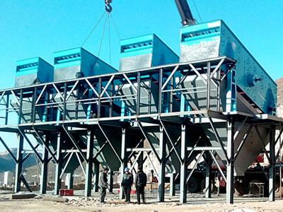 唐山时产800吨建筑用砂石骨料生产线