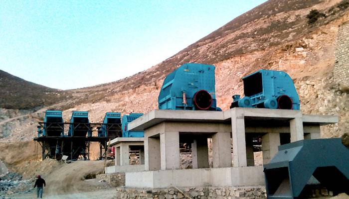 唐山时产800吨建筑用砂石骨料生产线02