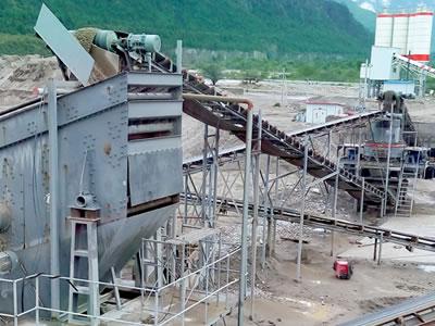 西藏时产200吨建筑用砂石骨料生产线