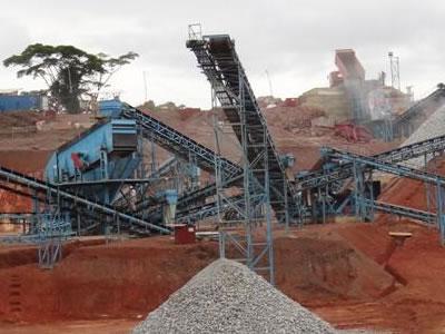 喀麦隆时产200吨大坝用砂石骨料加工生产线