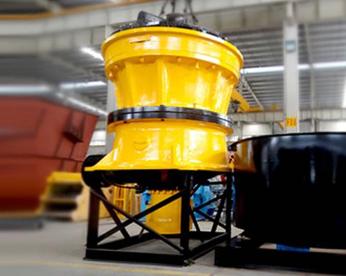 钢渣处理 - GPY系列钢渣专用液压圆锥破碎机